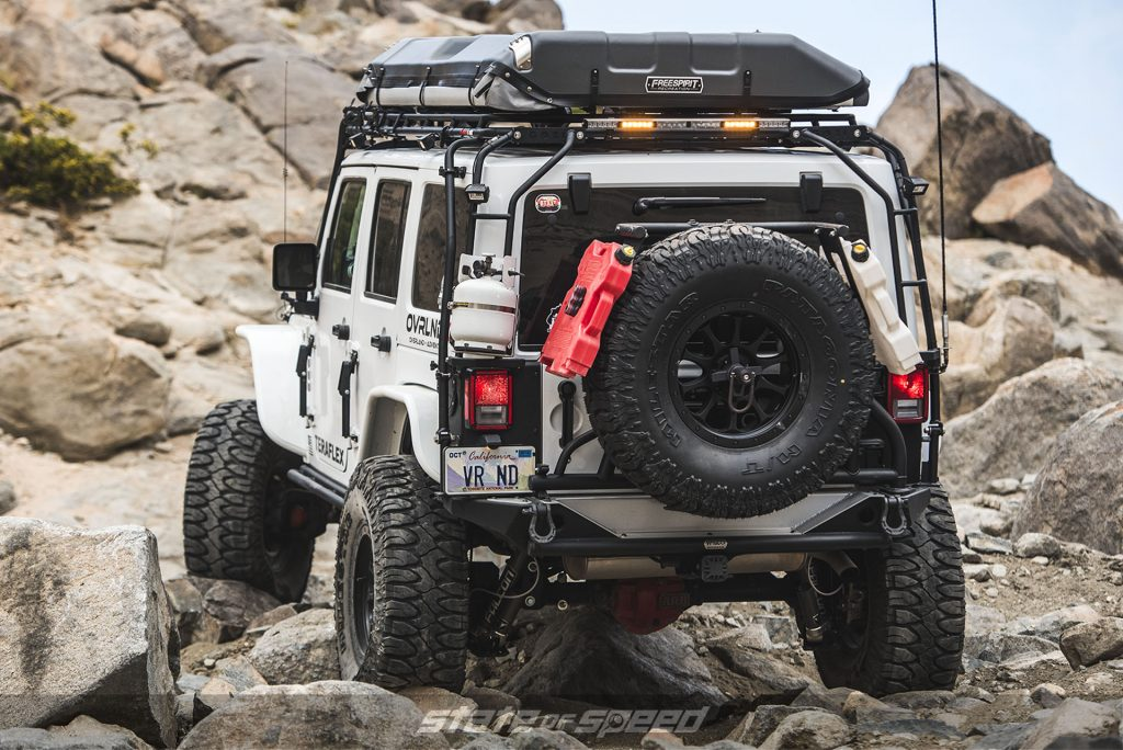Overland style Jeep JK