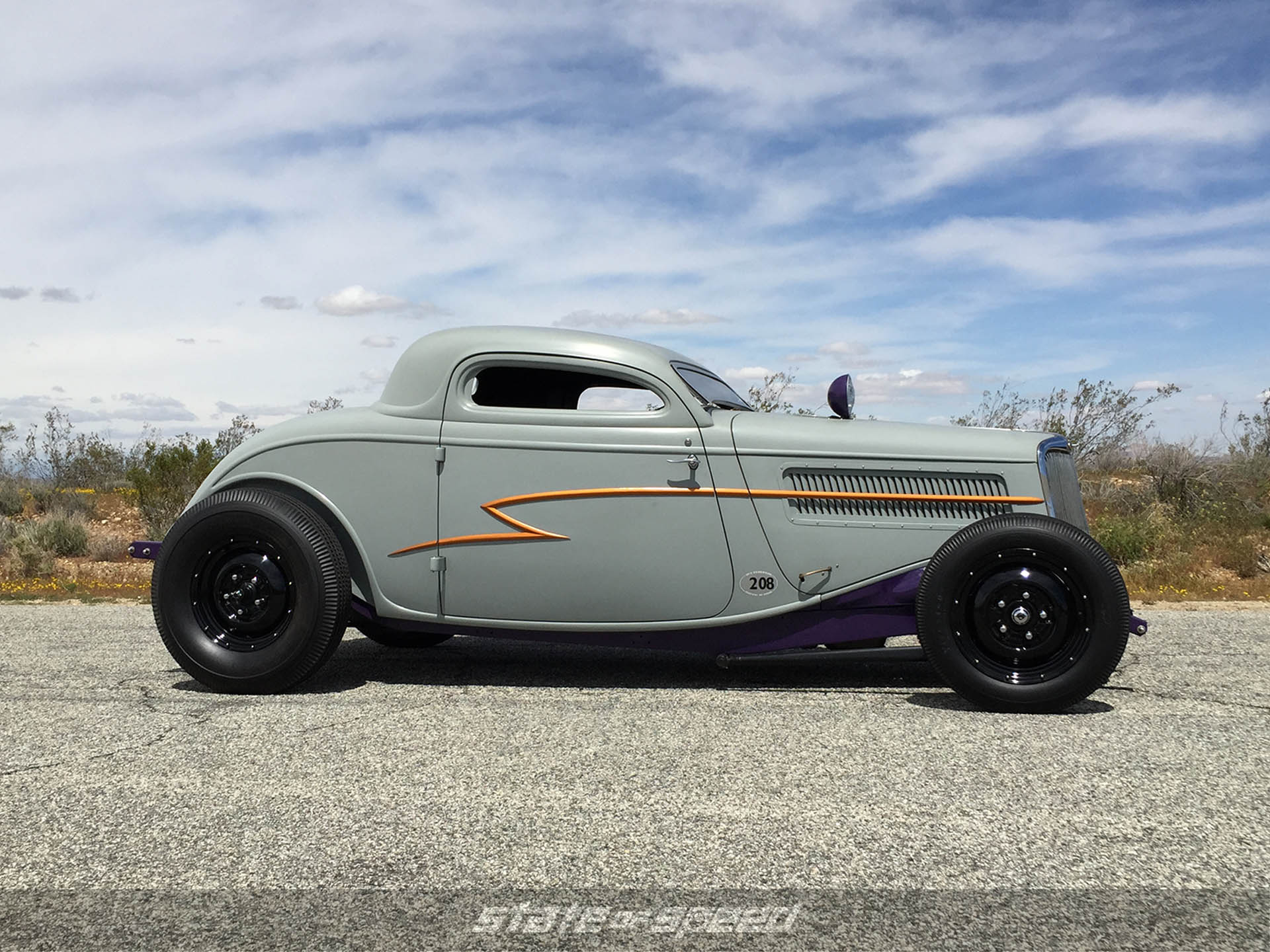 34' Ford Coupe profile