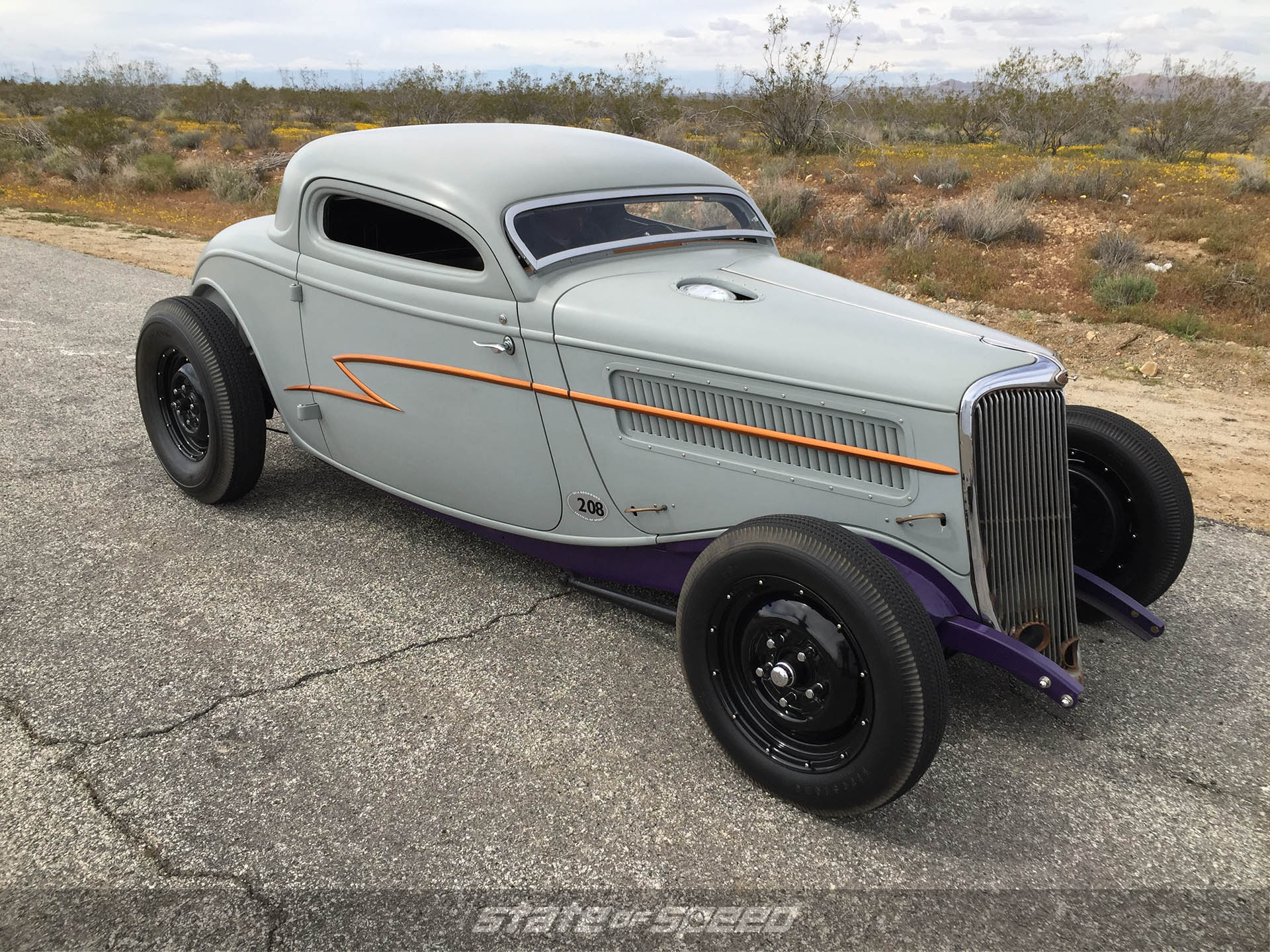 "'34 Ford Coupe ""Whiskey Runner"""