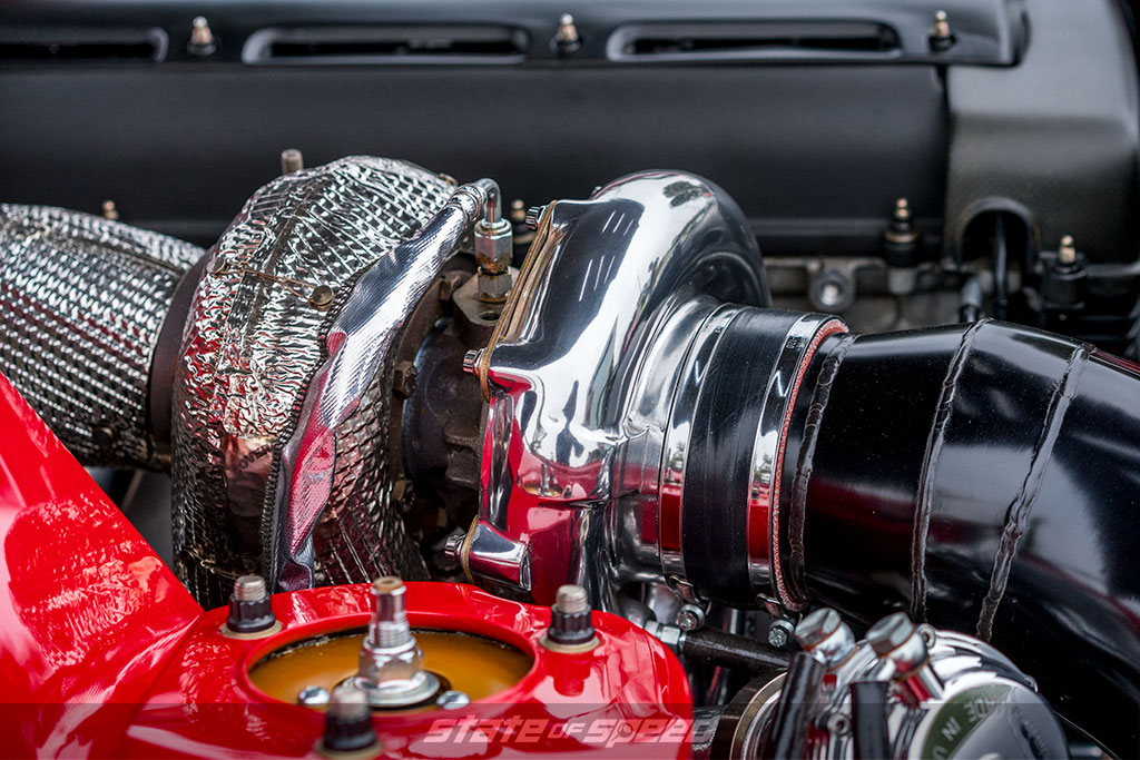 Toyota 2JZ turbocharged