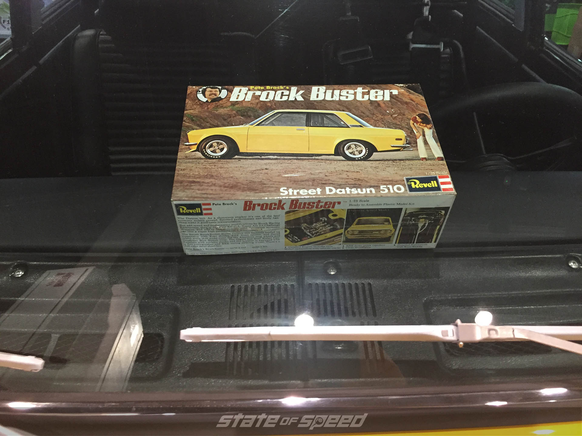 "Datsun 510 ""Brock Buster"" vintage toy at SEMA 2019"