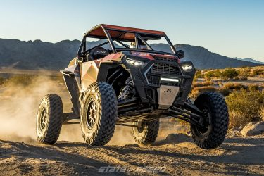 UTV with independent front suspension