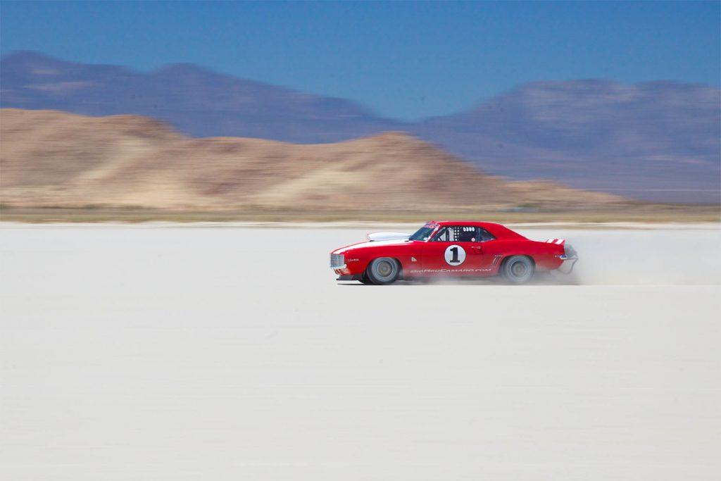 Testing high speeds at El Mirage