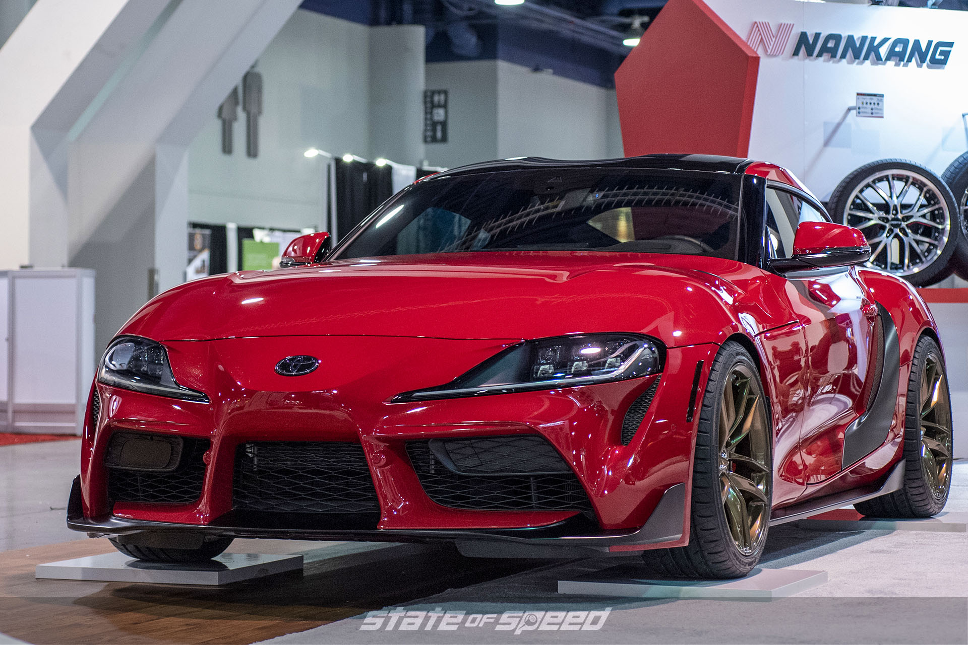 Toyota GR Supra at SEMA 2019