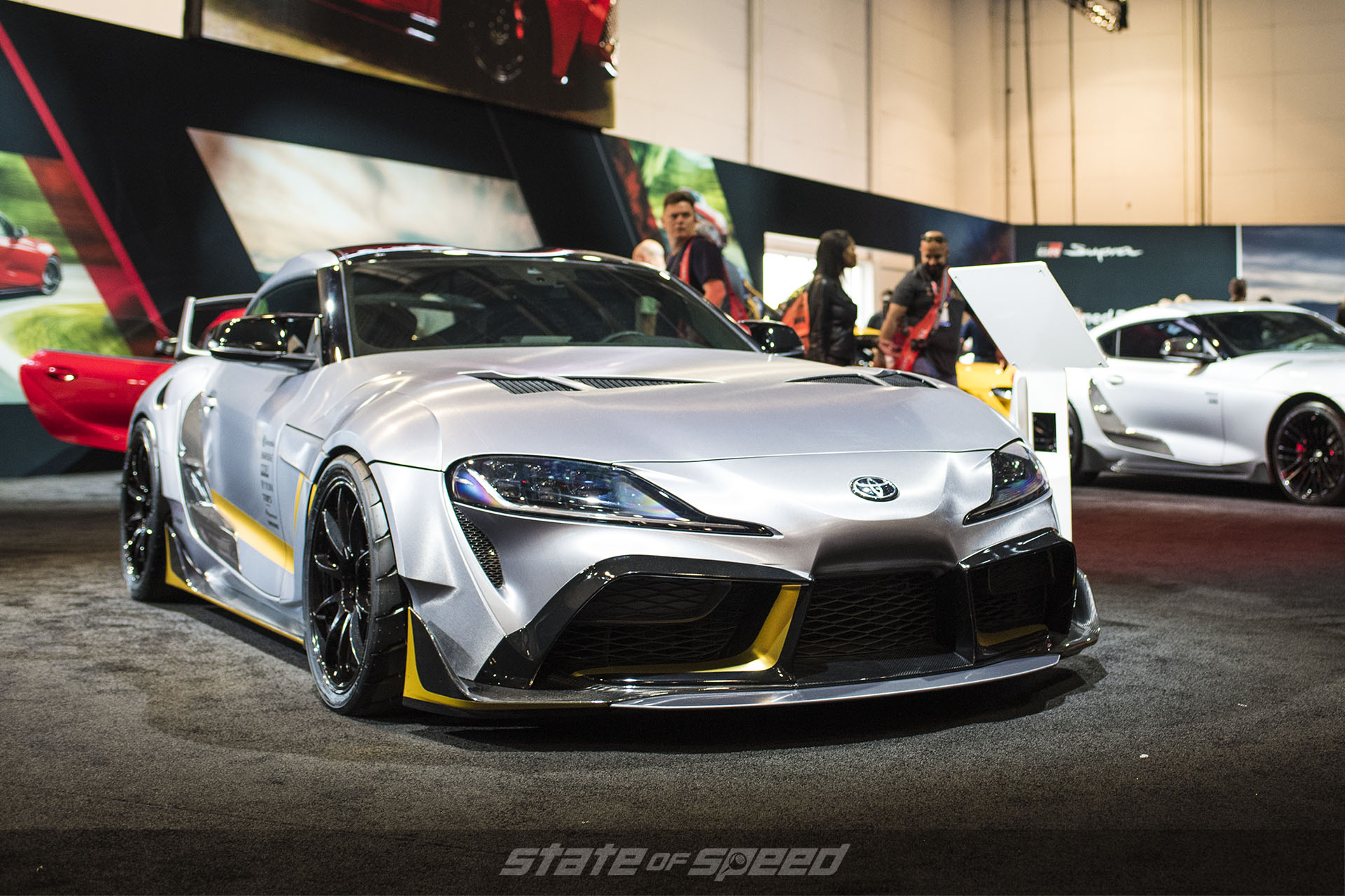 MKV 3000GT Supra at the Toyota Corporate display at SEMA