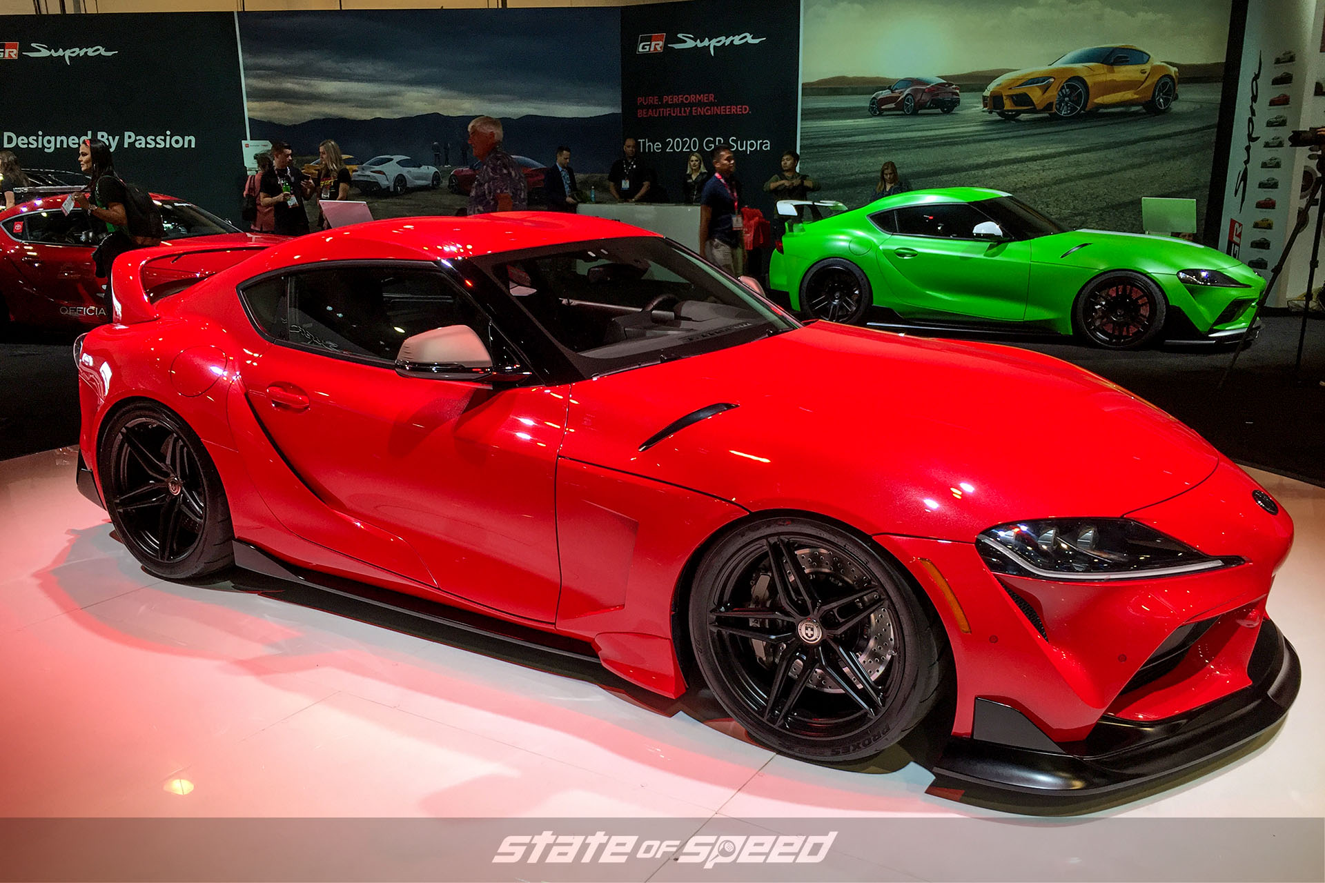 Heritage edition Supra at SEMA