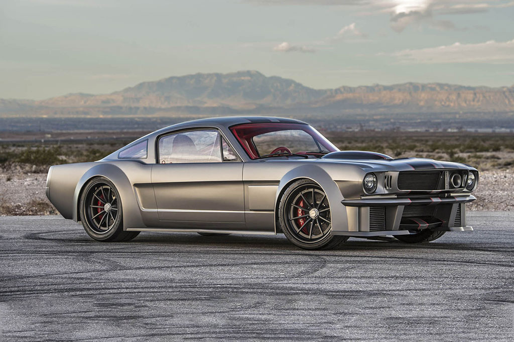 Vicious Mustang 3/4 shot
