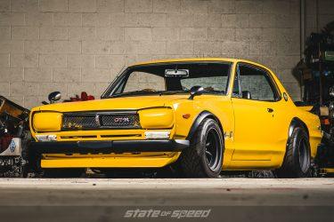 Yellow Nissan GT-R Hakosuka