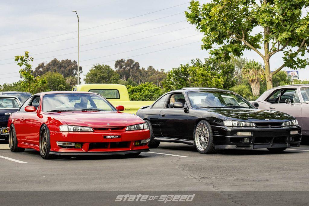 Red Nissan 240SX Silvia Kouki with Black