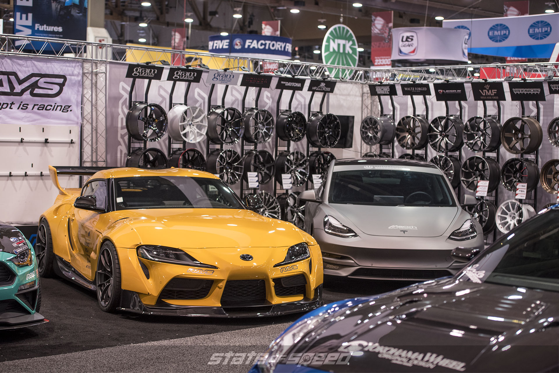 Rays wheels booth
