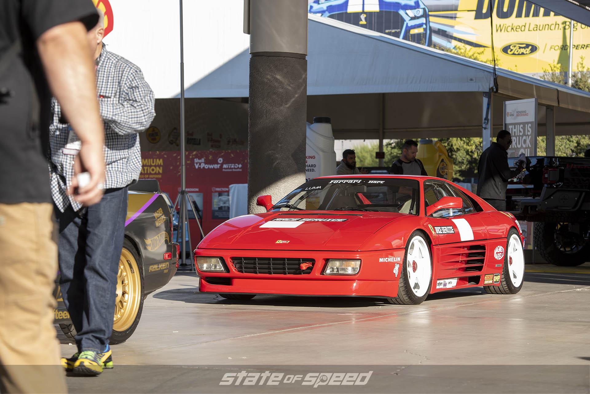 Ferrari Testarosa at SEMA