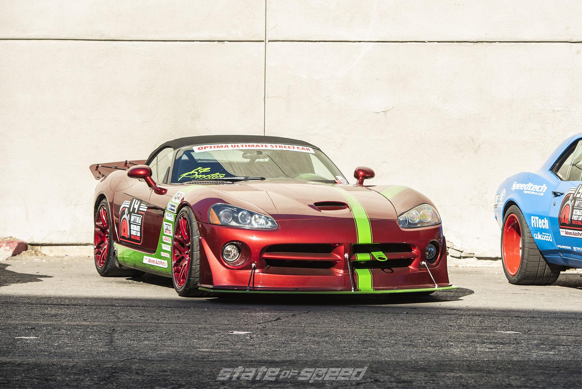 Race tuned Dodge Viper for Optima Ultimate Street Car