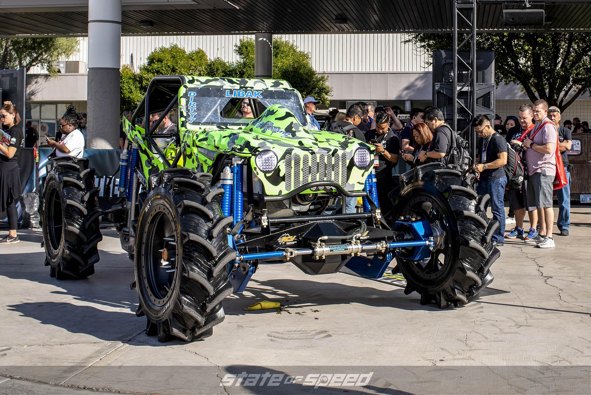 "Chris Libak's ""Animalistic"" Mega Truck at SEMA 2019"
