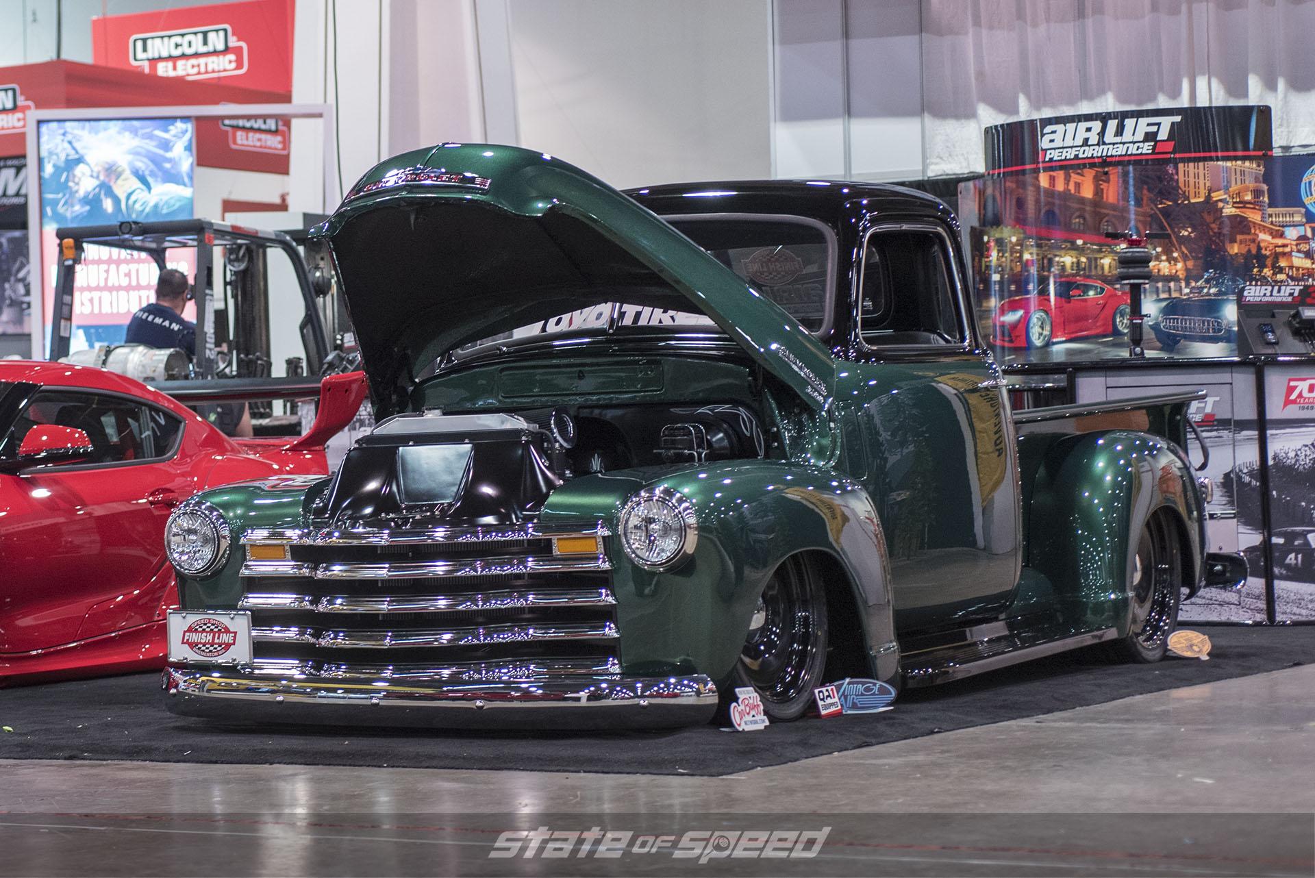 Chevy Truck at SEMA 2019