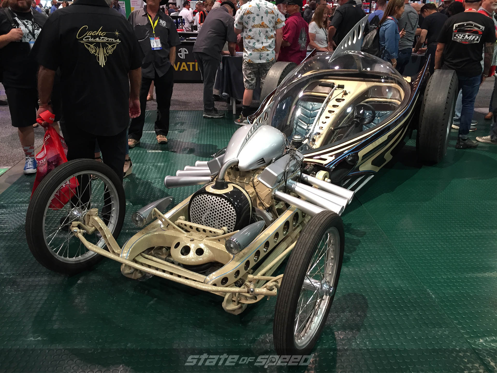 Ed 'Big Daddy' Roth inspired custom bubbletop