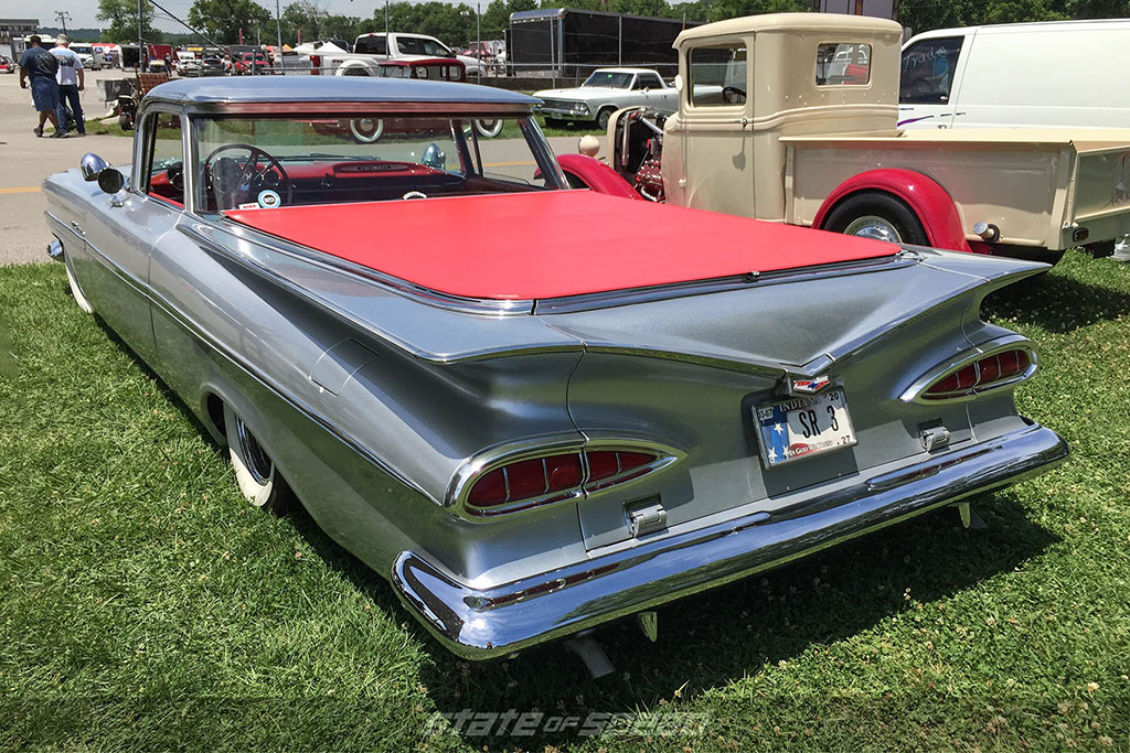 Rear of a first generation El Camino
