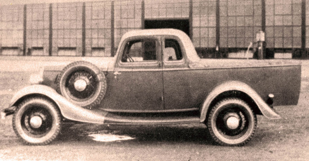 Original Ford Ute