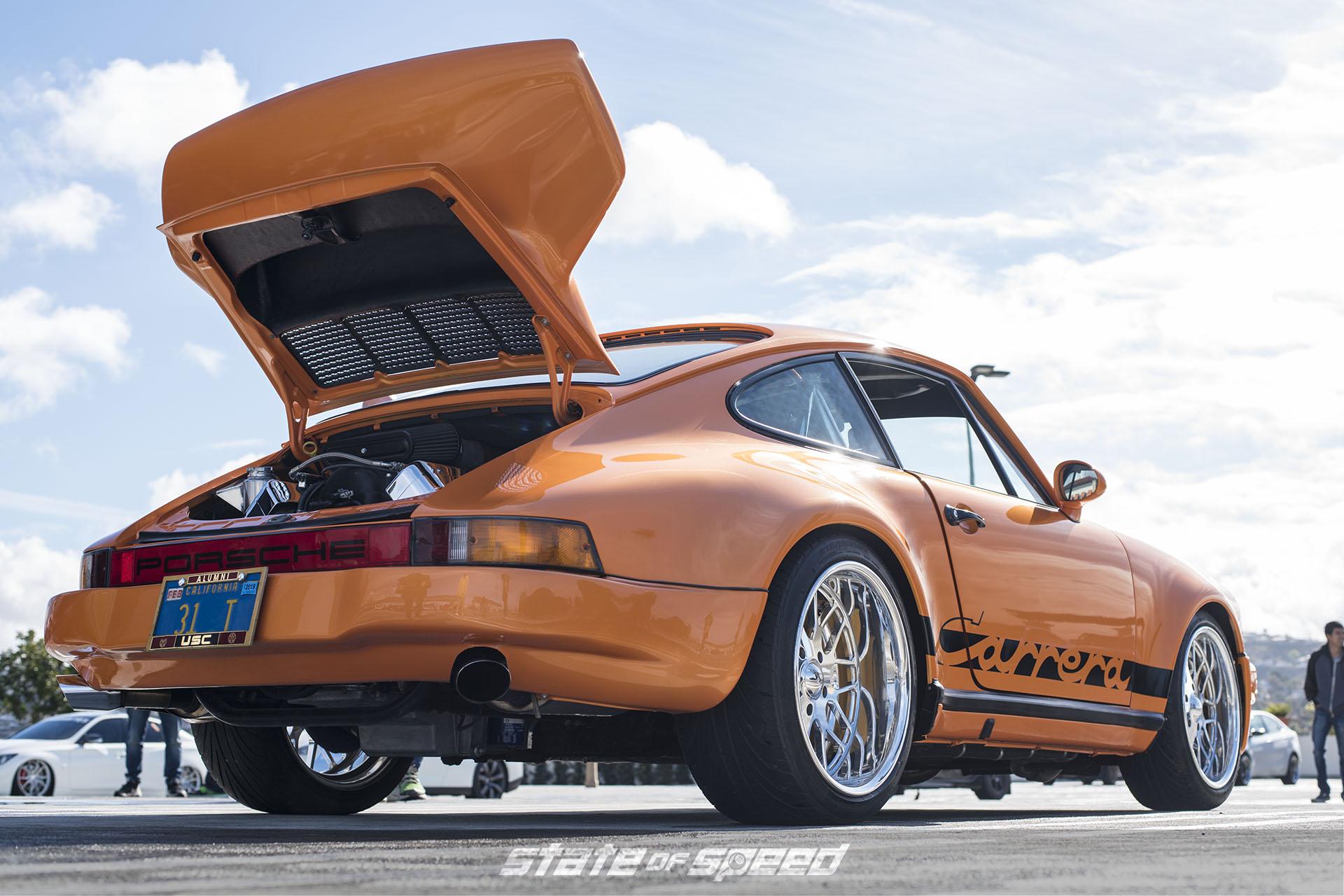 LS V8 swapped Porsche Carrera
