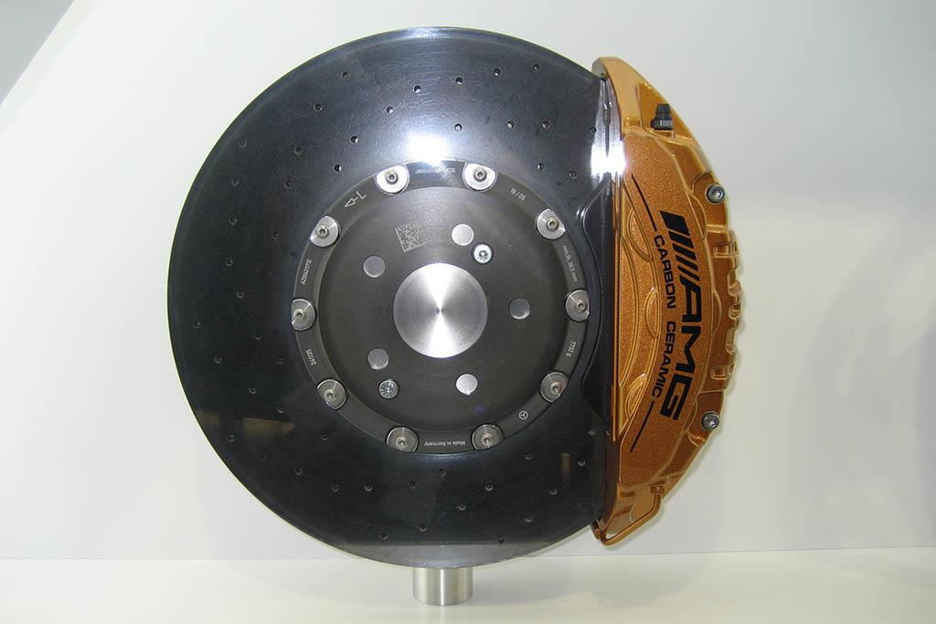 AMG Carbon ceramic brake rotors