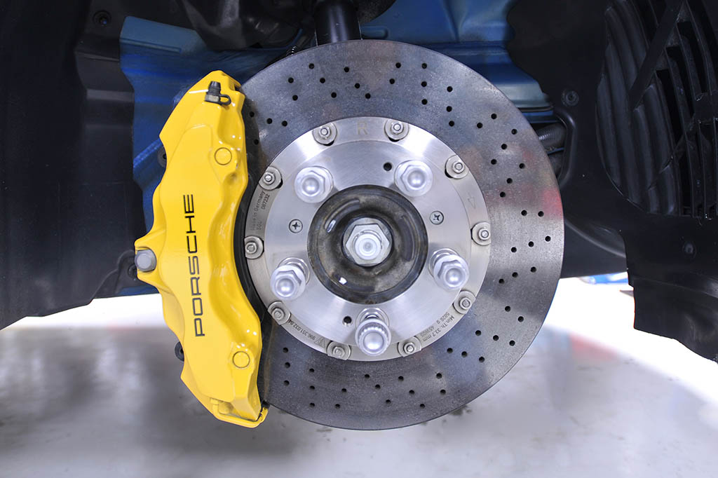 Porsche performance rotor