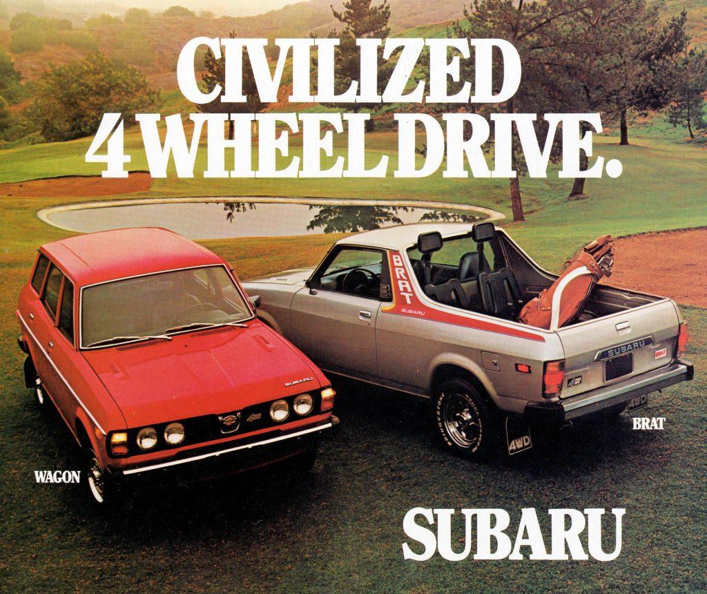 Subaru Brat ad