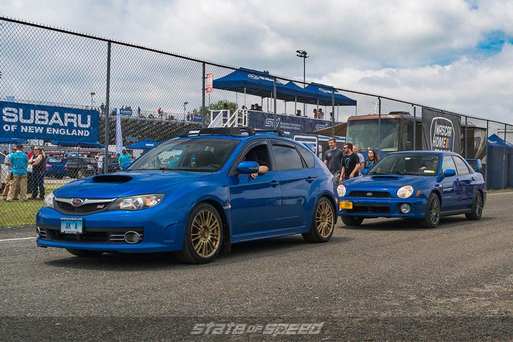 WRX STI Hatchback at Wicked Big Meet