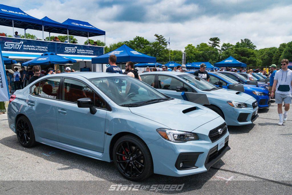 Subaru STI lineup
