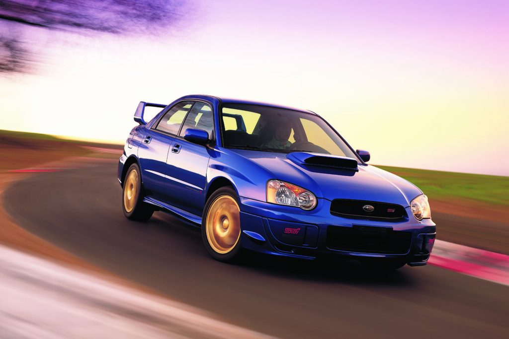 Blob eye Subaru WRX STI