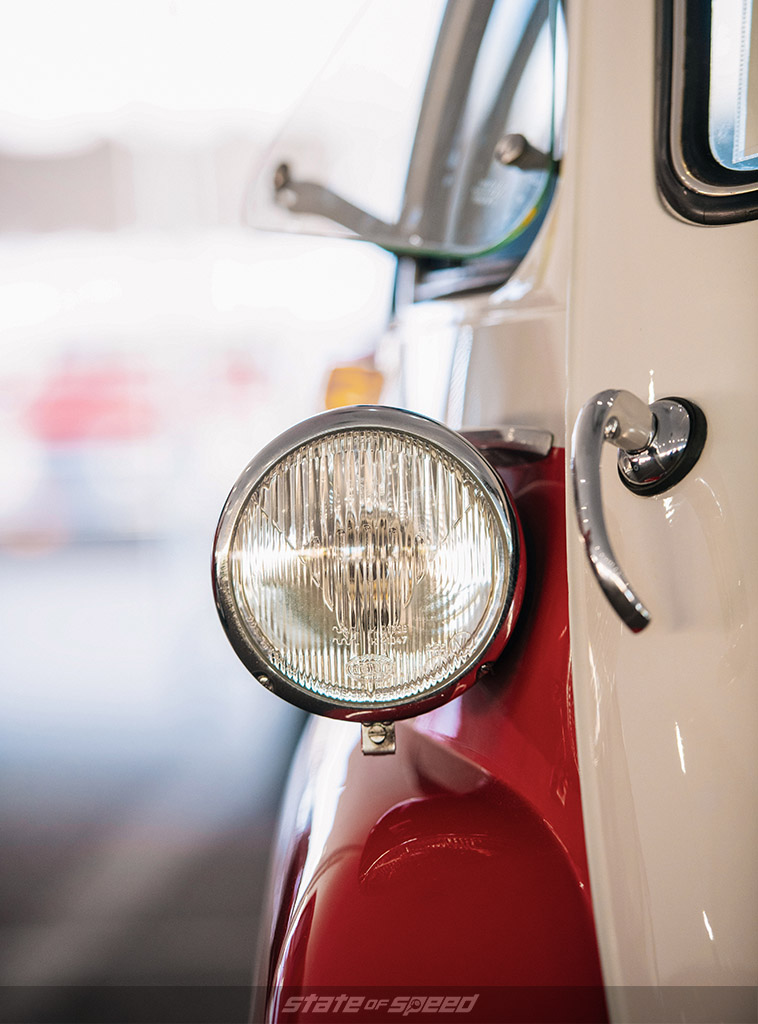 BMW Isetta 300 headlight