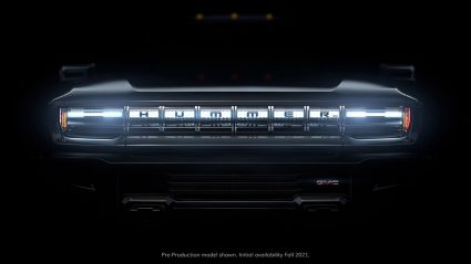 All New GMC Hummer EV teaser image