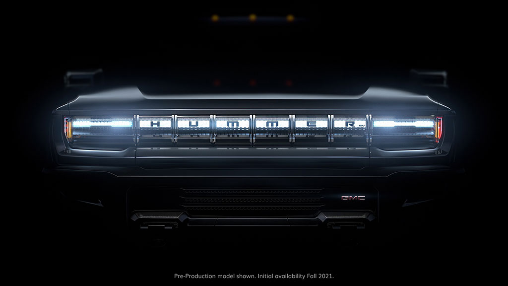 All New GMC Hummer EV teaser image