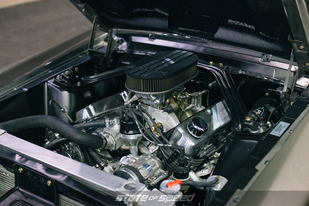 '67 Ford Mustang Eleanor Tribute engine roush