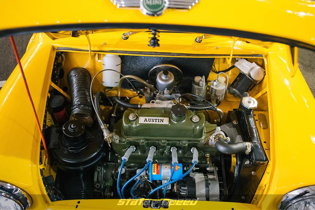 1962 Morris Mini Cooper engine