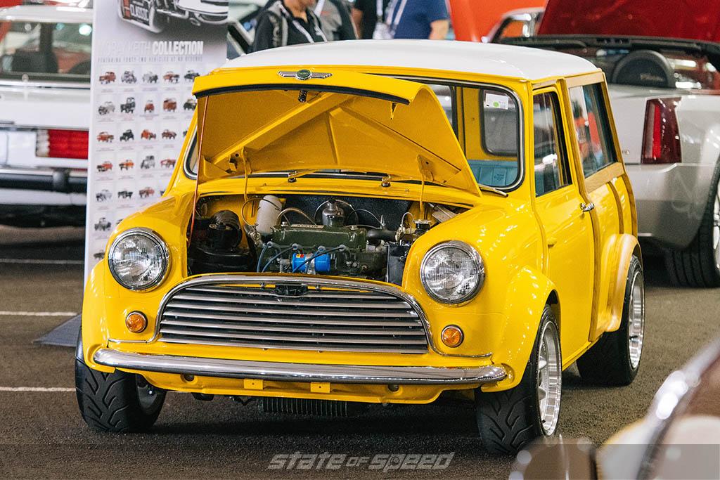 1962 Morris Mini Cooper engine bay