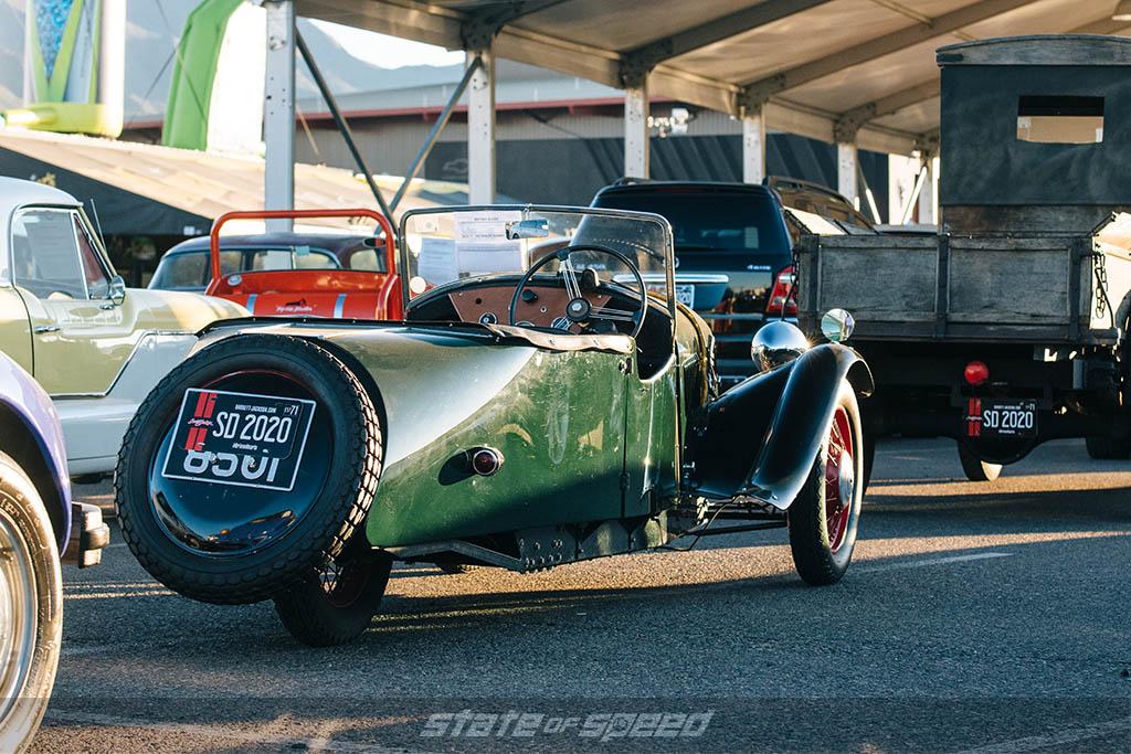 '37 Morgan F4 Roadster
