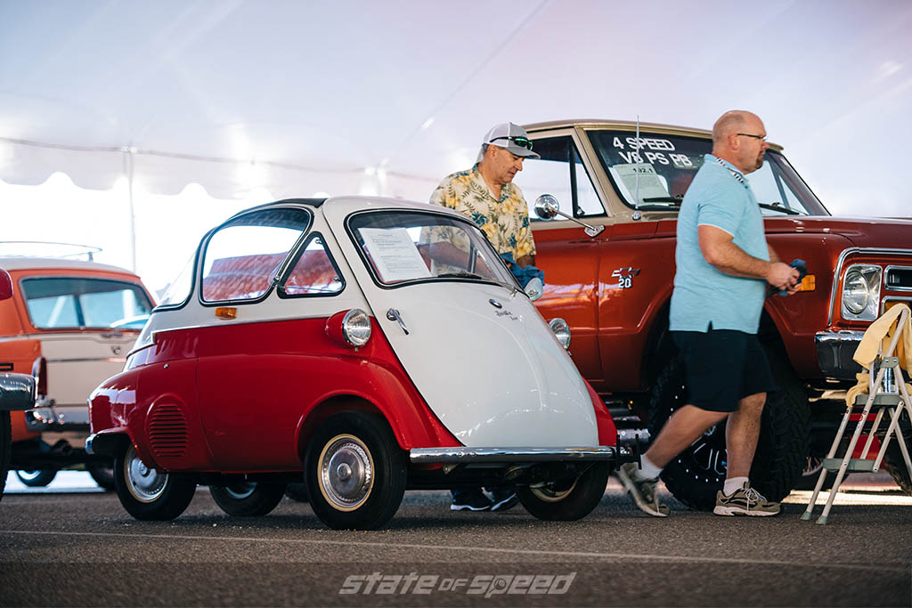 '56 BMW Isetta 300 ready for auction