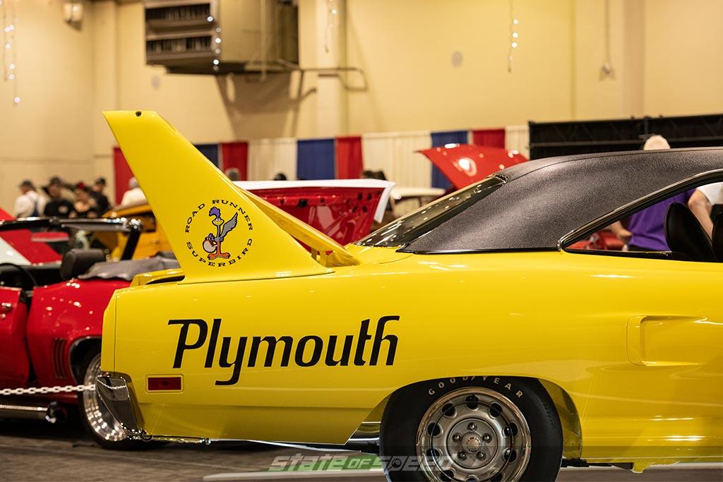 plymouth superbird at barrett