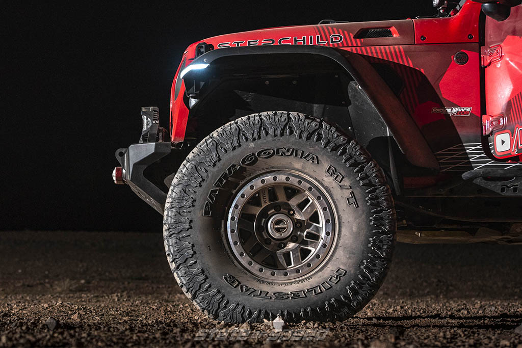 Wheel well and Patagonia M/T tires