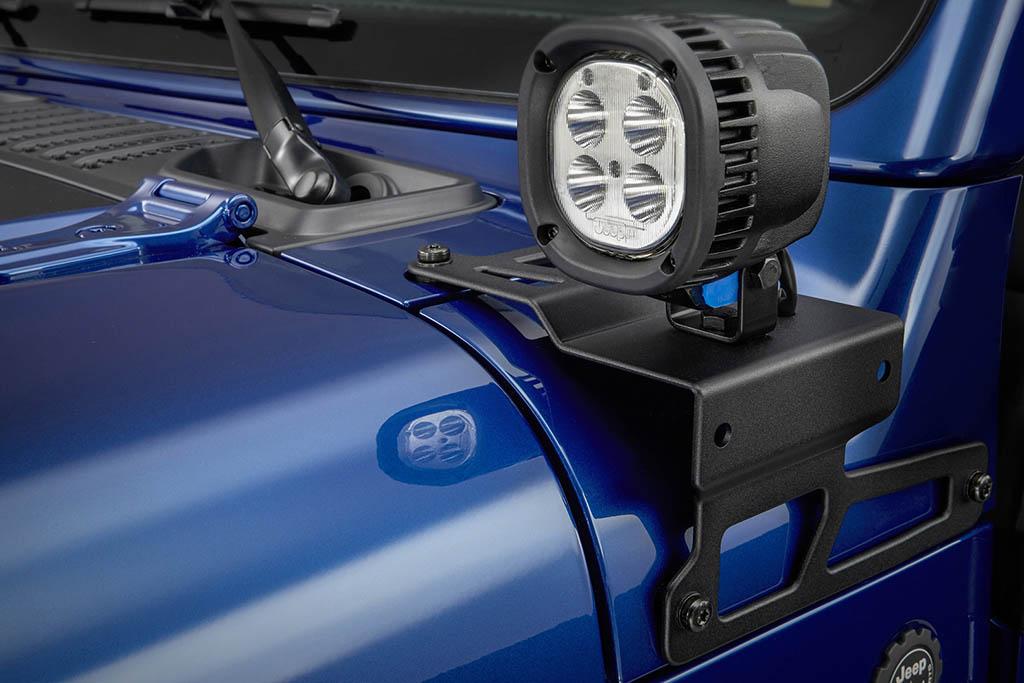 Jeep Wrangler MOPAR lights