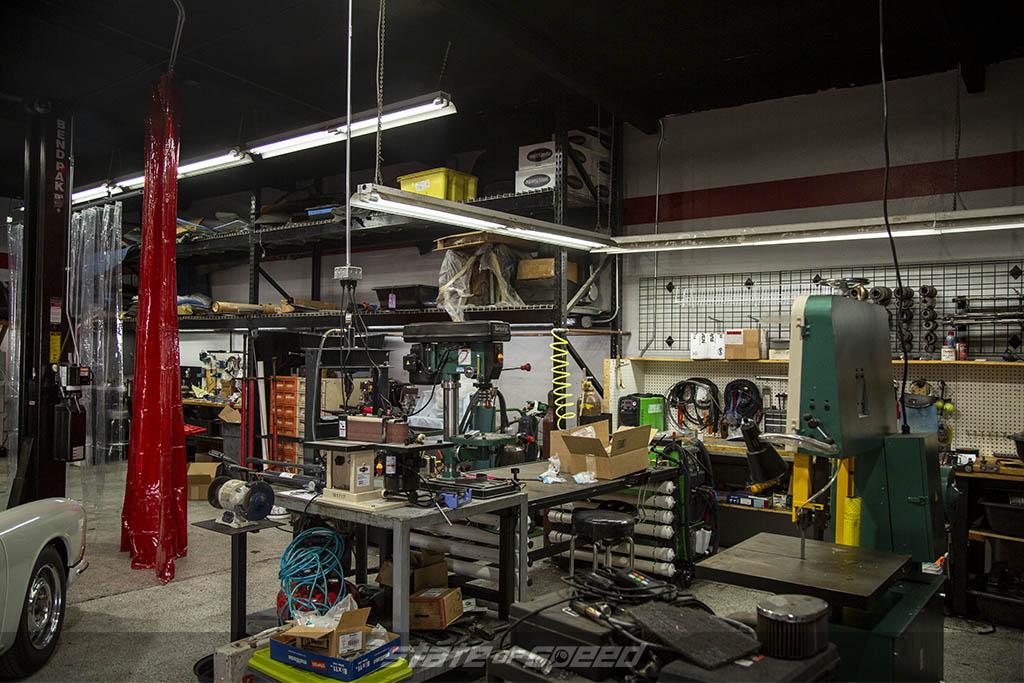 New shop at Benton Performance