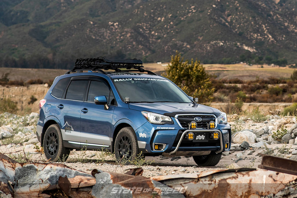 Subaru Forrester crossover with Nankang tires