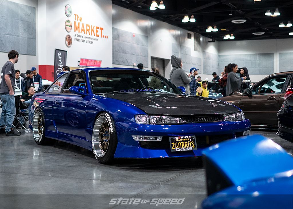 Lowered Kouki 240 S14 at Slammedenuff Socal