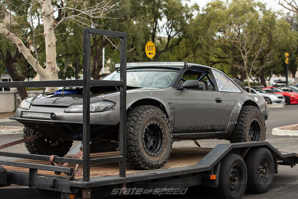Custom offroad s14 with s15 front end conversion