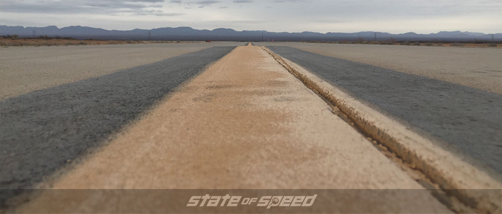 Spaceport America venue for the land speed record event