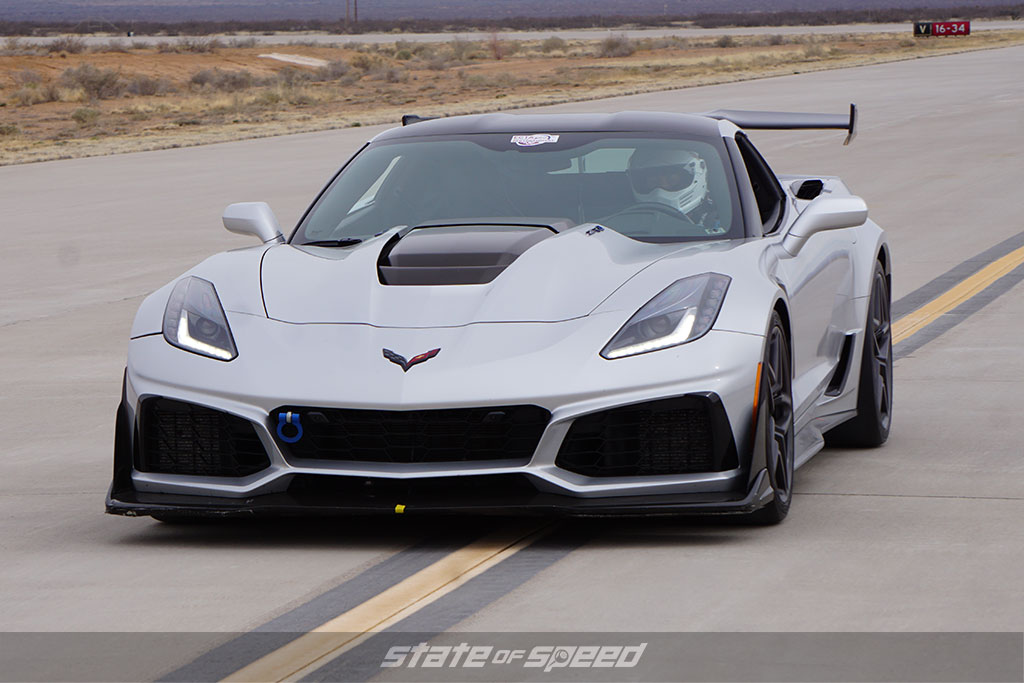 Corvette C7 at Spaceport America