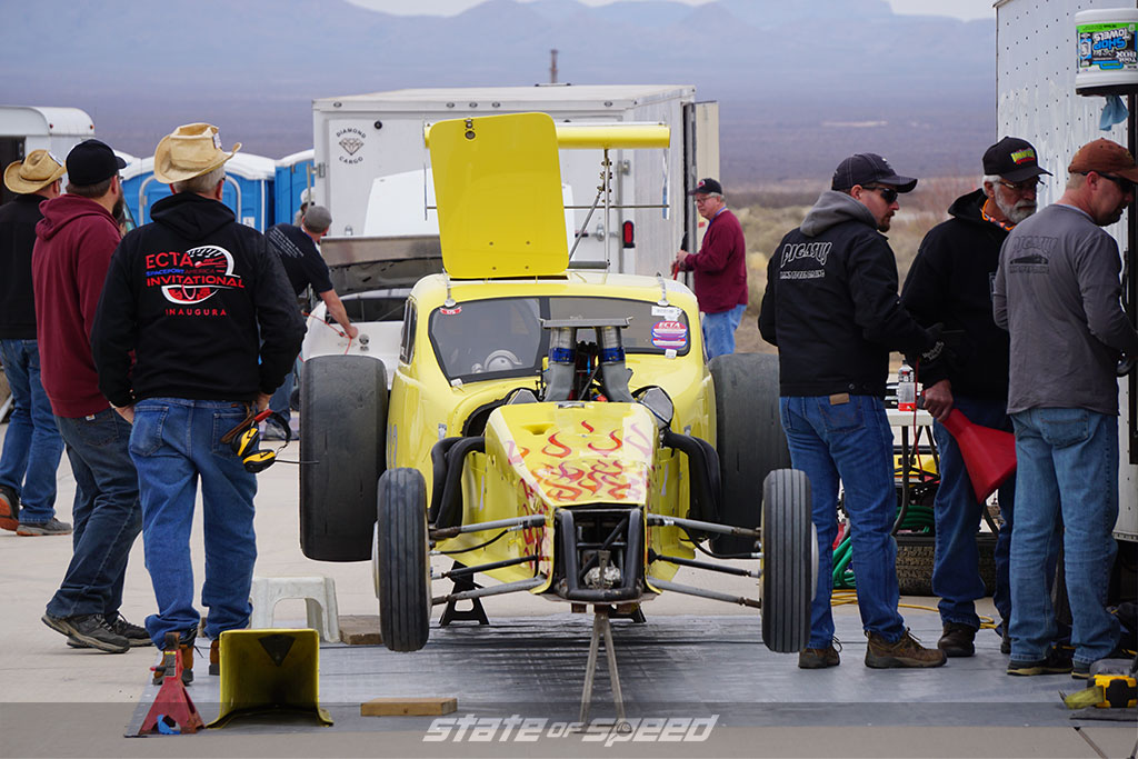 Pit for the speed record invitational