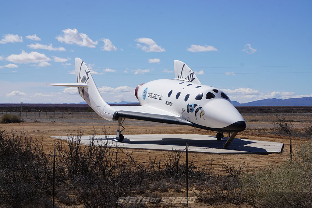 Virgin Galactic space craft