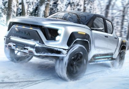 electric pickup Nikola Badger