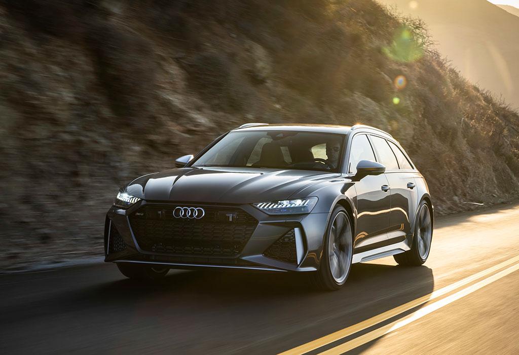 Audi RS6 rolling shot
