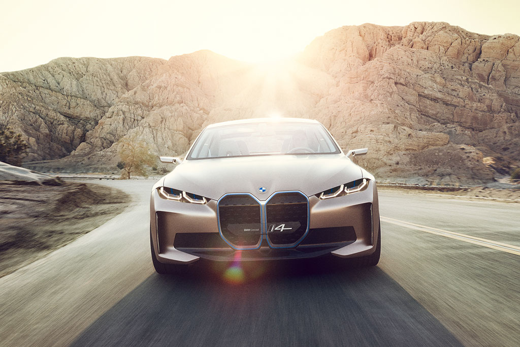 All Electric BMW I4